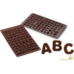 Stampo cioccolatini Lettere Alfabeto o Choco ABC