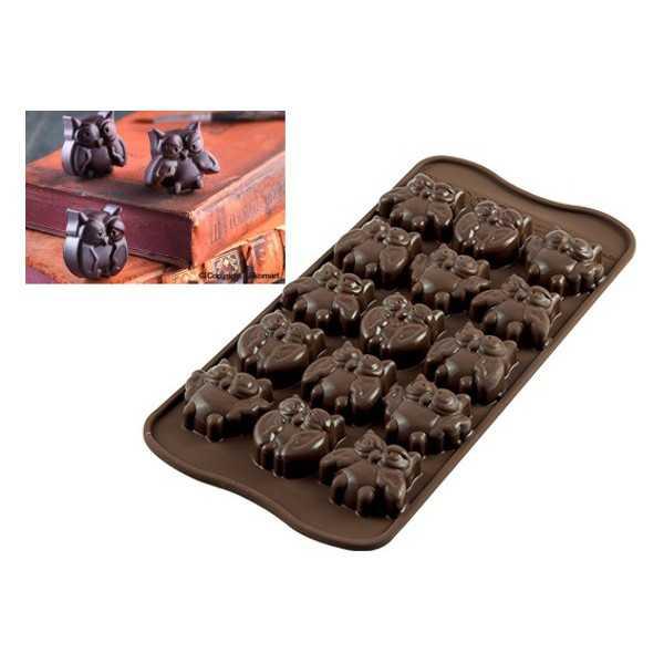 Stampo Cioccolatini Gufi o Choco Gufi
