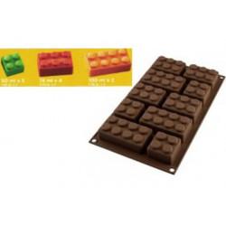 Stampo Choco Block forma Mattoncini Lego