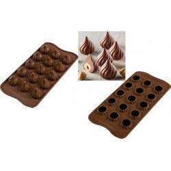 Stampo Cioccolato Fiamma Tridimensionale o Choco Flame 3D