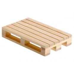 Vassoio bancalino in legno cm 20 x 12 x 3