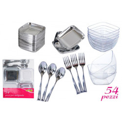 Set antipasto Finger Food pz 54