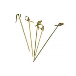 20 pz Stecchino in bamboo da aperitivo cm 9