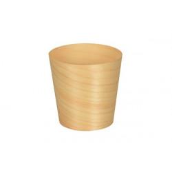 Bicchierini Finger Food cm 6 in legno pz 6