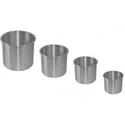 Set 4 Pezzi Forma Pan Brioche in Alluminio