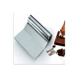 Raschia per cioccolato in acciaio inox cm.10