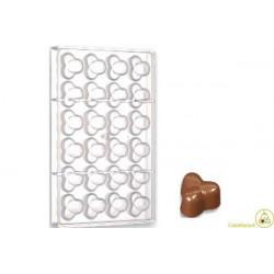 Stampo cioccolato 3 nocciole