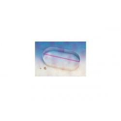 Fascia Oblunga cm 30 x 4 h in Acciaio Inox