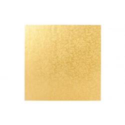 Vassoio sottotorta Quadrato dorato 30x30cm