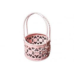 Portaconfetti Segnaposto cestino colore Rosa