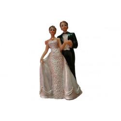 Topper Sposi per torta matrimonio 14 cm