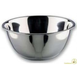 Ciotola conica in acciaio inox cm 16 lt 0