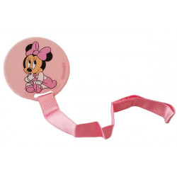 Clip Portaciuccio Minnie Disney Rosa