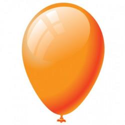 100 palloncini Arancioni diametro 19cm