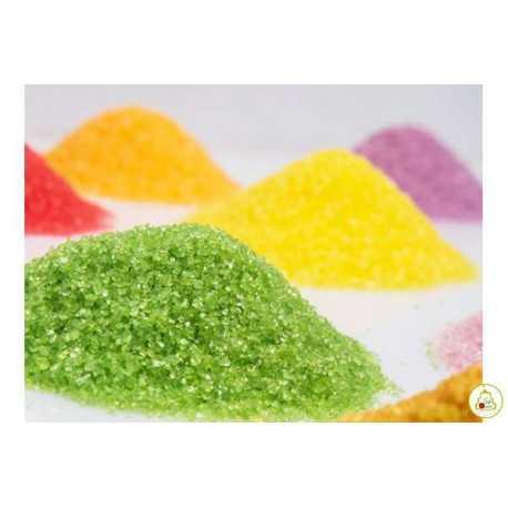 Cristalli di zucchero gr500 Verde