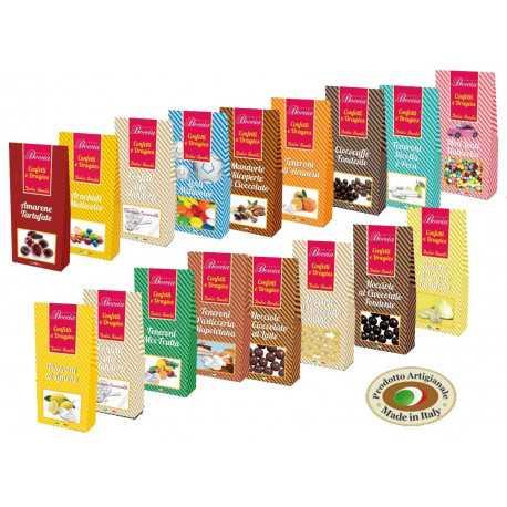 Kit Mini Party Confettata 12 sacchetti da 150gr assortiti