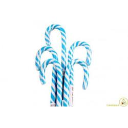 Lecca Lecca Candy Cane bianco azzurro gr 14