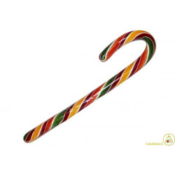 Lecca Lecca Candy Cane arcobaleno gr 14