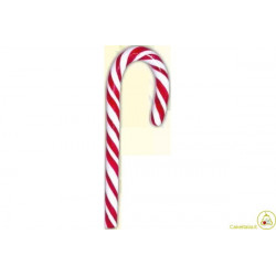 Lecca Lecca Candy Cane bianco rosso gr 14