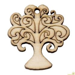 Applicazione in legno Albero della Vita pz 12