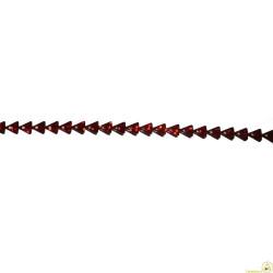 Nastro a punte o alberelli rossi 5 mm x 5 m