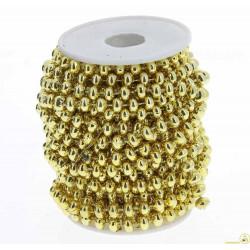 Filo con perline oro 3mt