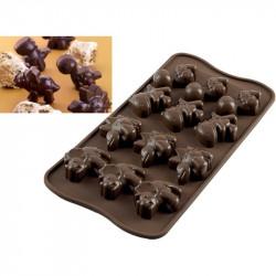 Stampo Cioccolatini Dino i Mini Dinosauri di Silikomart