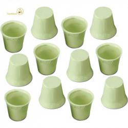12 Cialde Bicchierini Cioccolato Verdi gusto Limone