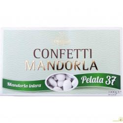 1 Kg Confetti Gran Lusso Mandorla Pelata 37 bianca