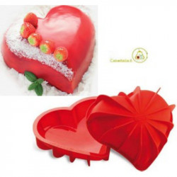 Stampo Cuore in Silicone Stampo Love mm 205x186x54h