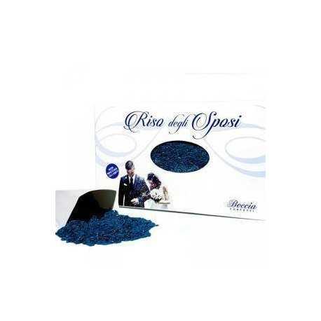 Riso da lanciare agli Sposi o Riso per Matrimoni 500 g colore Blu