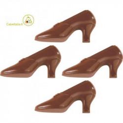 Stampo cioccolato Scarpetta in policarbonato 15 cm x 7 cm