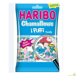 Haribo Chamallows Puffi Family 175gr
