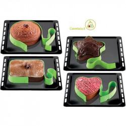4 Forme della Free Bake di Silikomart