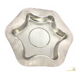 Stampo Stella in alluminio cm 25 x h4,5 Spessore 1,4 mm