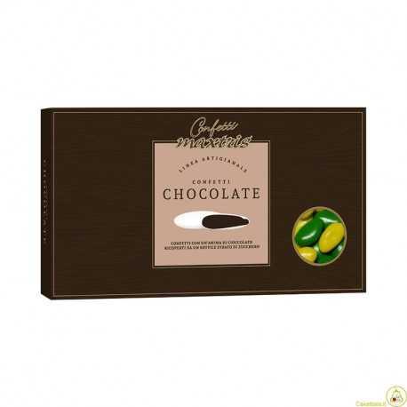 Confetti al Cioccolato Giallo Verde 1 Kg