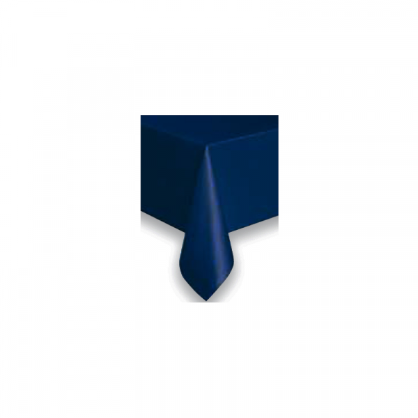Tovaglia Quadrata Blu in Cotonato Monouso 100x100cm