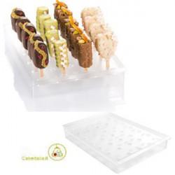 Vassoio Espositore per Gelati su Stecco Espogel Up Mini Trasparente per CakePops, EasyPop, Finger Mini su Stecco