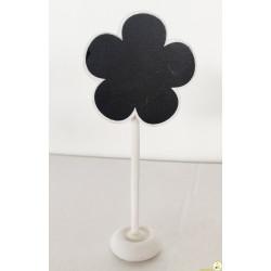 Lavagnetta segnaposto/segnagusto fiore cm 6x13