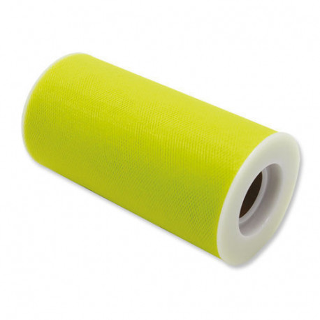 Rotolo tulle Verde Mela Brillante 12,5cmx100m