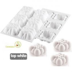Stampo Cloud 120 ml o monoporzione nuvola in silicone da Silikomart