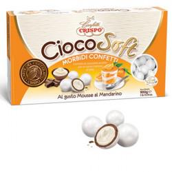 CiocoSoft Mousse al Mandarino Crispo Confetti di Cioccolato Cremoso 900 g