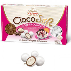 CiocoSoft Variegato all'Amarena Crispo Confetti di Cioccolato Cremoso 900 g