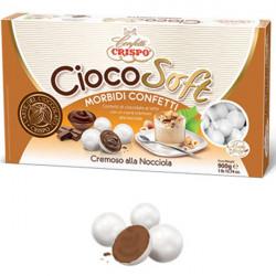 CiocoSoft Cremoso alla Nocciola Crispo Confetti di Cioccolato Cremoso 900 g