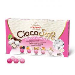 CiocoSoft Selection Color Rosa Crispo Confetti di Cioccolato Cremoso 900 g