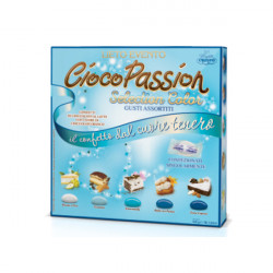 500 g Astuccio Ciocopassion Lieto Evento Selection Color Celeste di Crispo