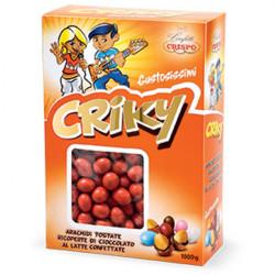 Confetti Criky Rossi Crispo i Cioco Arachidi da 1 Kg