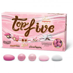 Confetti Topfive Selection Color Rosa Crispo da 1 Kg