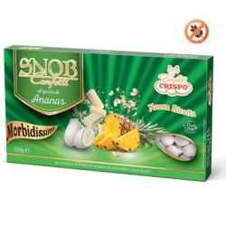 500 g Confetti Snob alla frutta gusto Ananas da 500 g Bianchi Crispo
