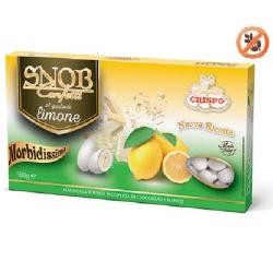 500 g Confetti Snob Limone Cioco-mandorla Bianchi Crispo